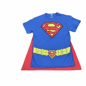DC Comics Superman short sleeve with red cape